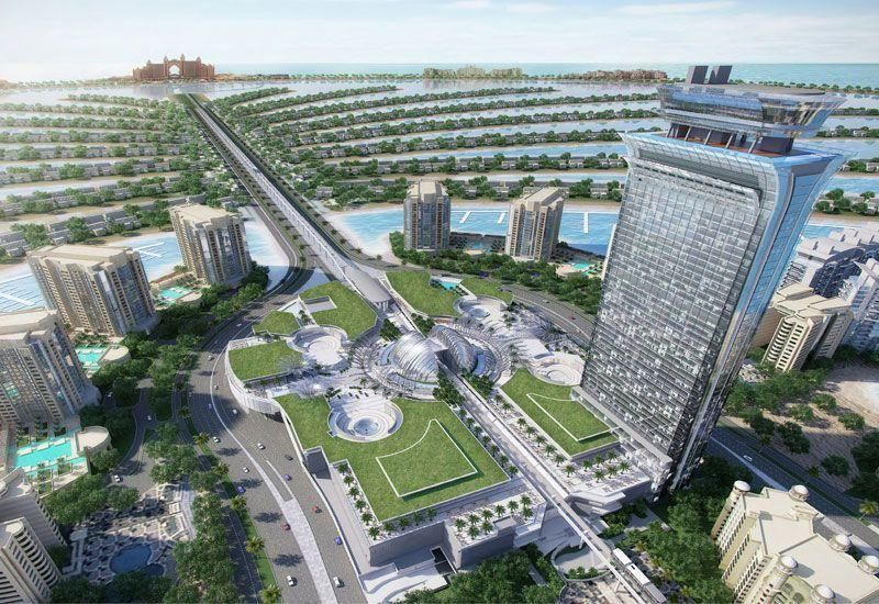 Nakheel awards $223m contract for construction of The Palm Tower