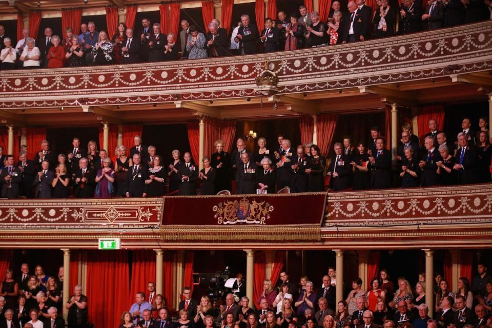 Festival of Remembrance in London