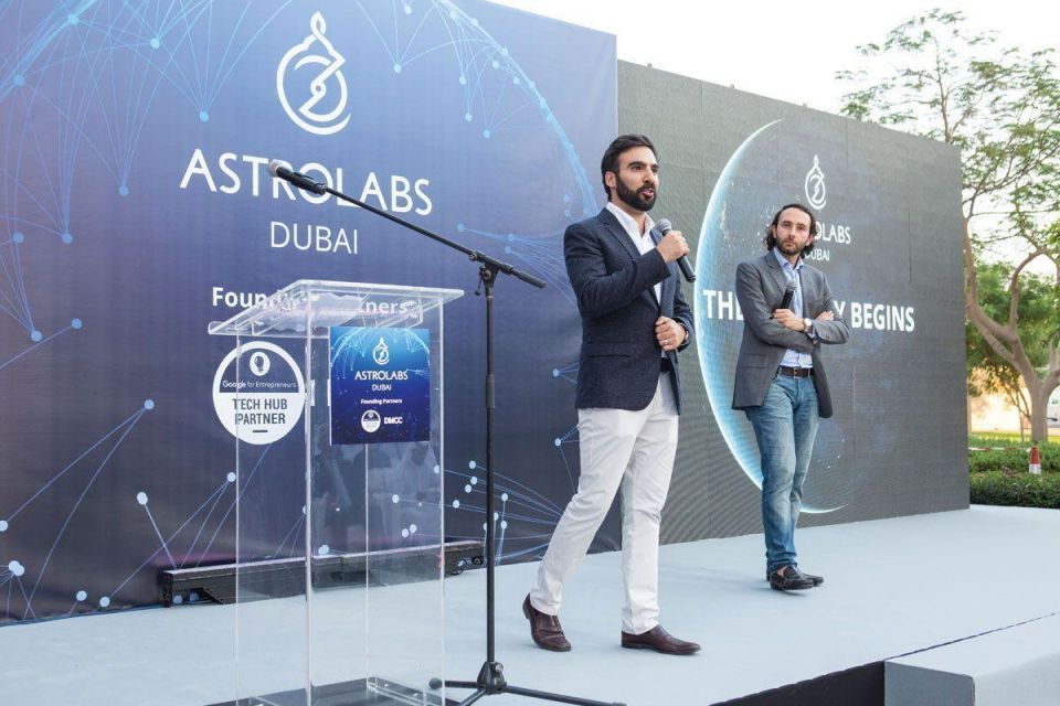 Busy times at Google-partnered tech hub AstroLabs