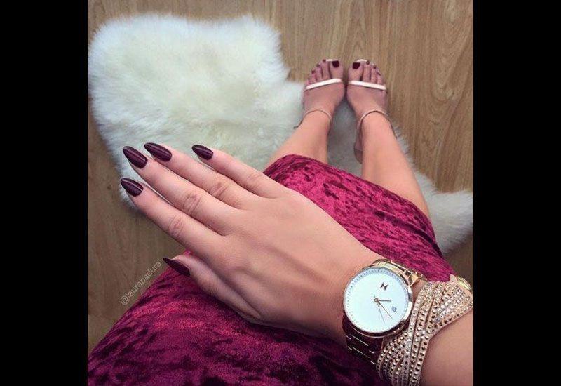 Dubai ladies' winter style on Instagram