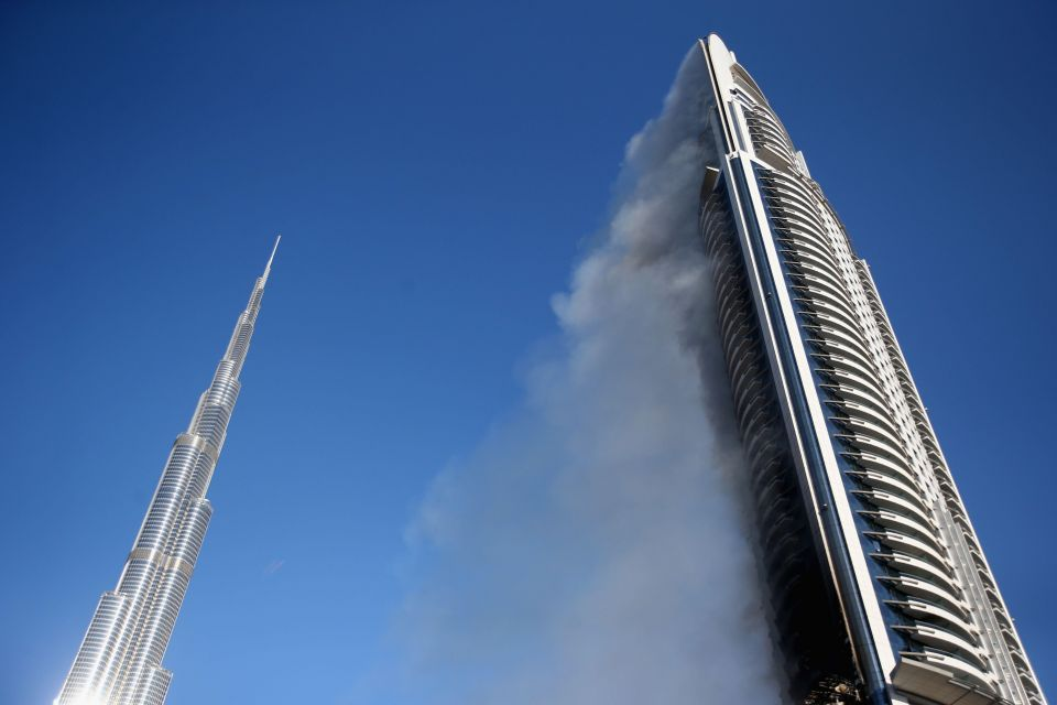 "UAE firm starts making ""non-flammable"" cladding for skyscrapers"