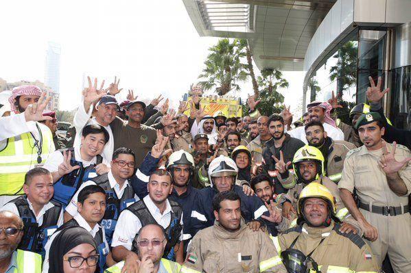 Dubai ruler hails role of emergency services in major hotel blaze
