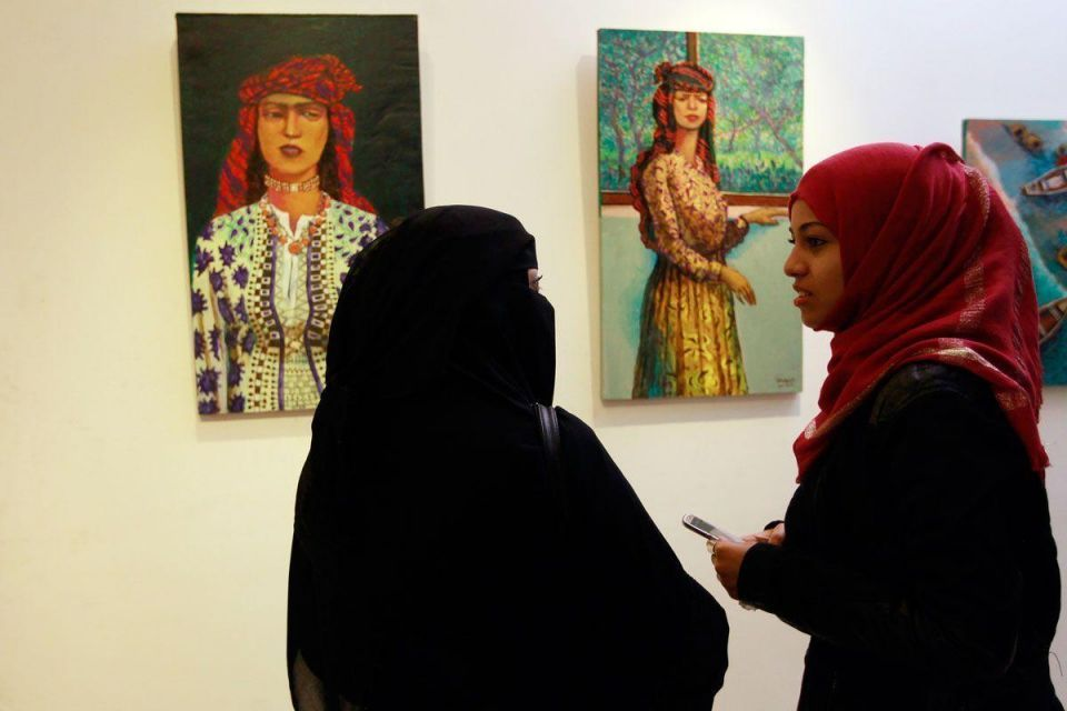 Yemeni artists depict war