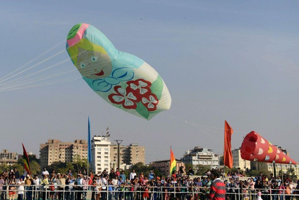 International Kite Festival 2016 in India