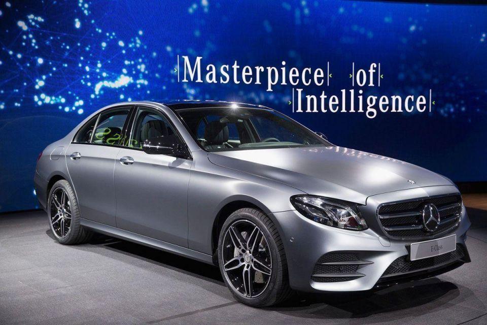 Mercedes presents new E-Class models