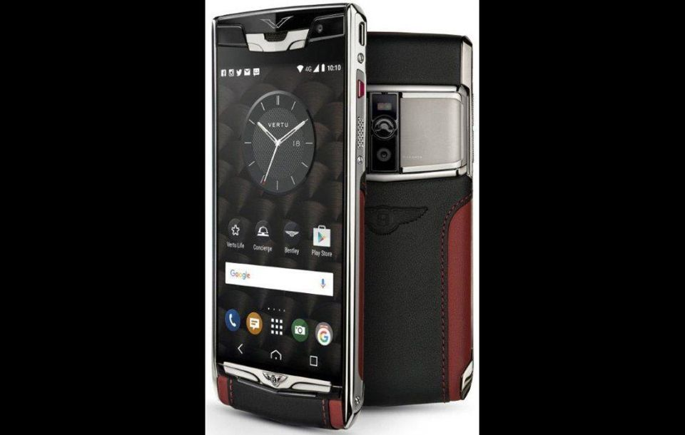 Vertu launches Signature Touch for Bentley