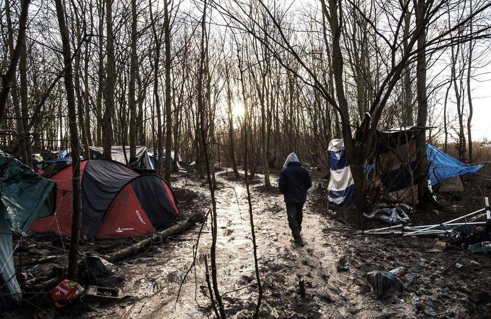 """Migrant at Dunkirk camp: """"Hell on earth is here"""""""