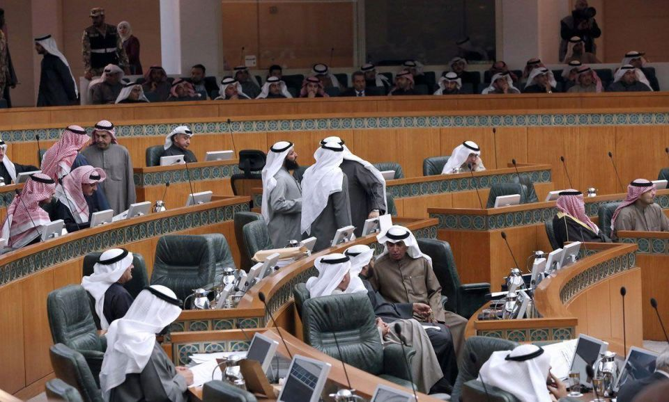 Kuwait parliament discusses government funding