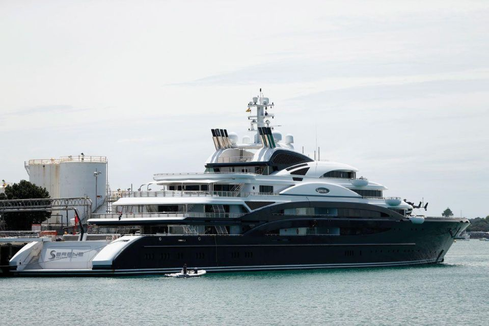 Revealed: The most expensive yachts in the world