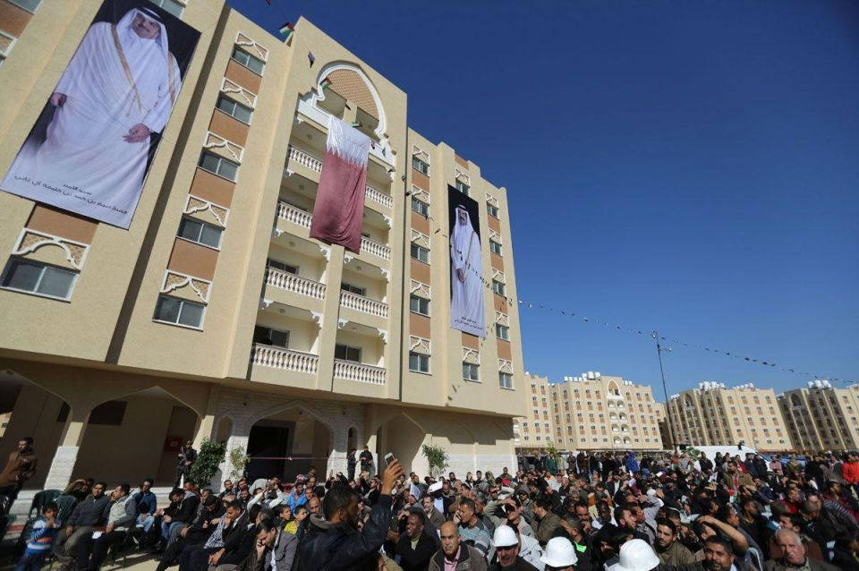 Qatar provides 1,000 new homes for Gazans displaced by war