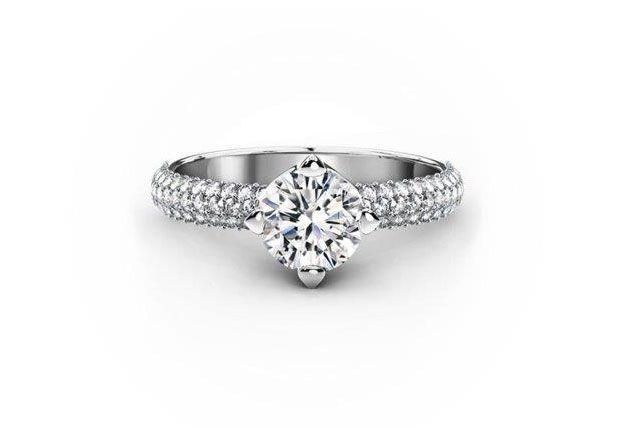 Forevermark's latest bridal ring collection