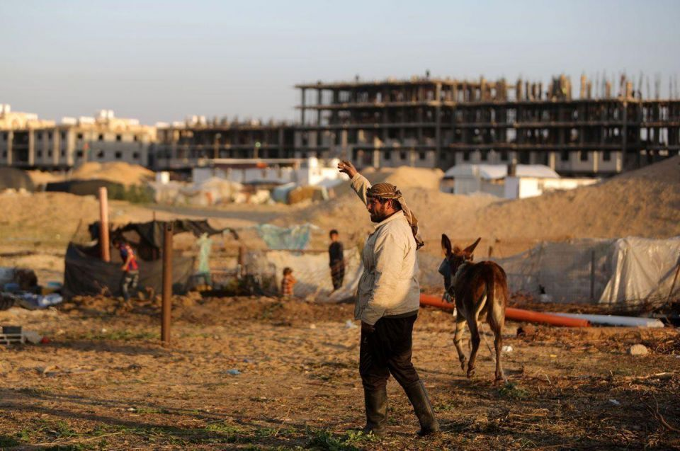 Qatar builds apartments for the poor in Gaza