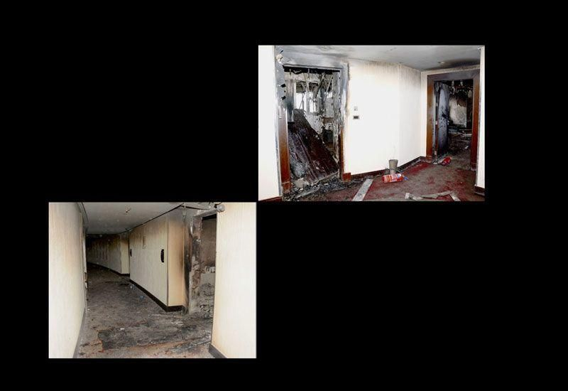Gallery: Dubai Police investigation into the NYE fire at The Address Downtown hotel