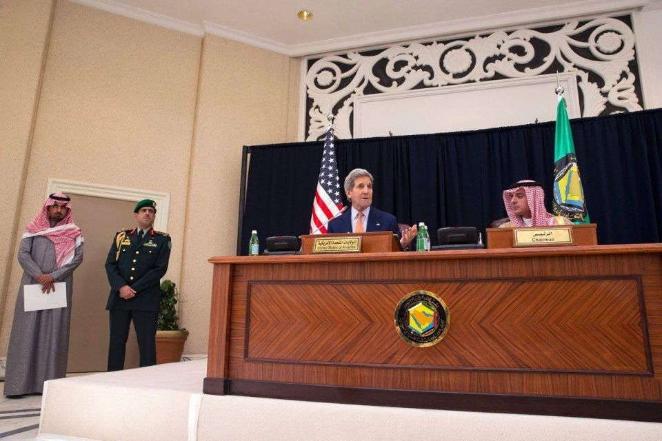 Kerry meets with King Salman in Riyadh