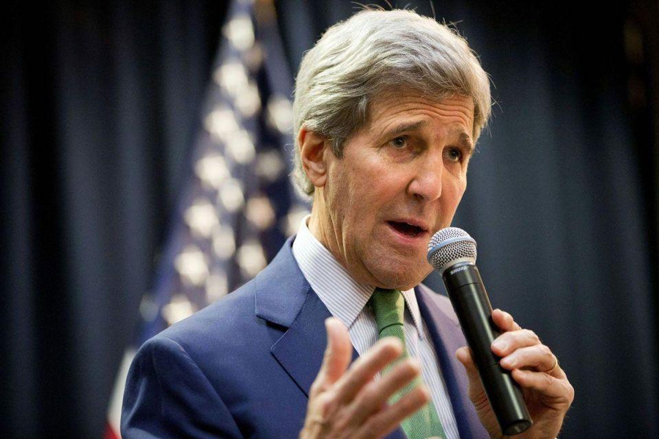 US Secretary of State Kerry meets King Salman in Saudi Arabia