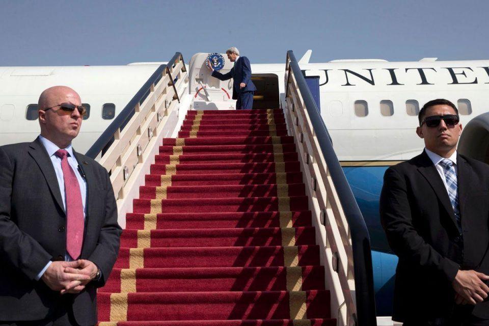 Kerry leaves Riyadh following talks on Syria, Iran