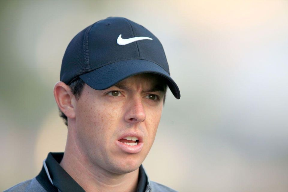Relaxed McIlroy back in the old routine in Dubai