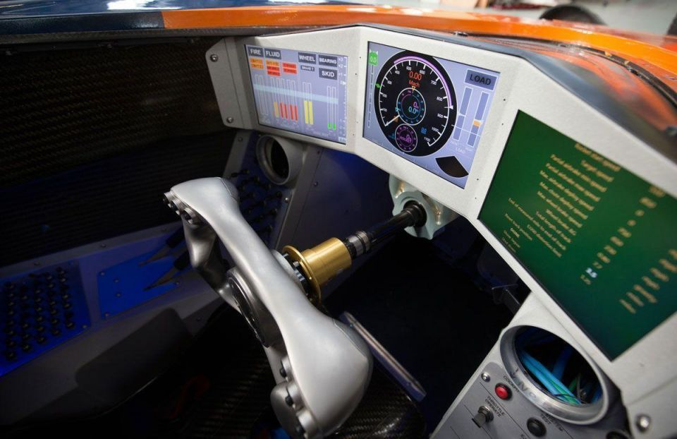 In pics: Bloodhound SSC Land Speed Record Car