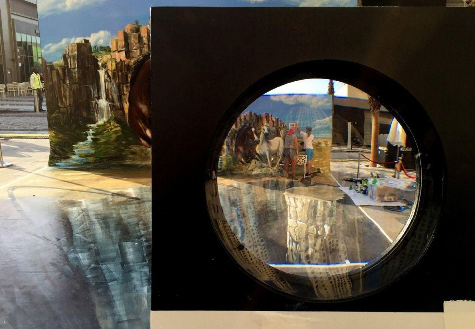 3D art on display at Dubai's JBR