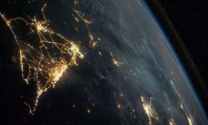 NASA astronaut tweets picture of UAE from space