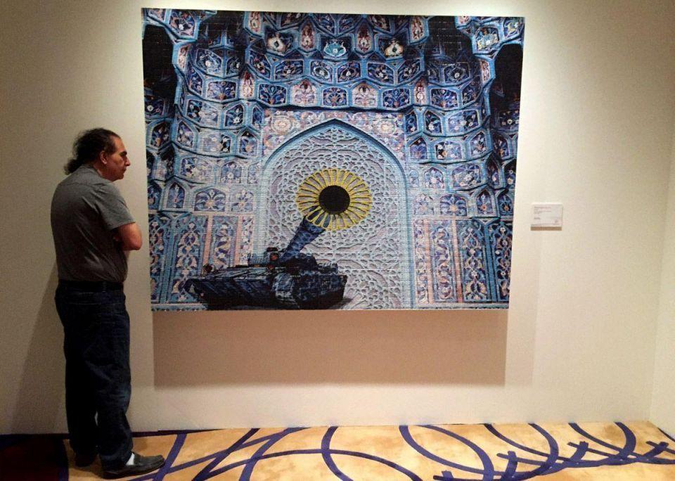 Christies art exhibition in Dubai