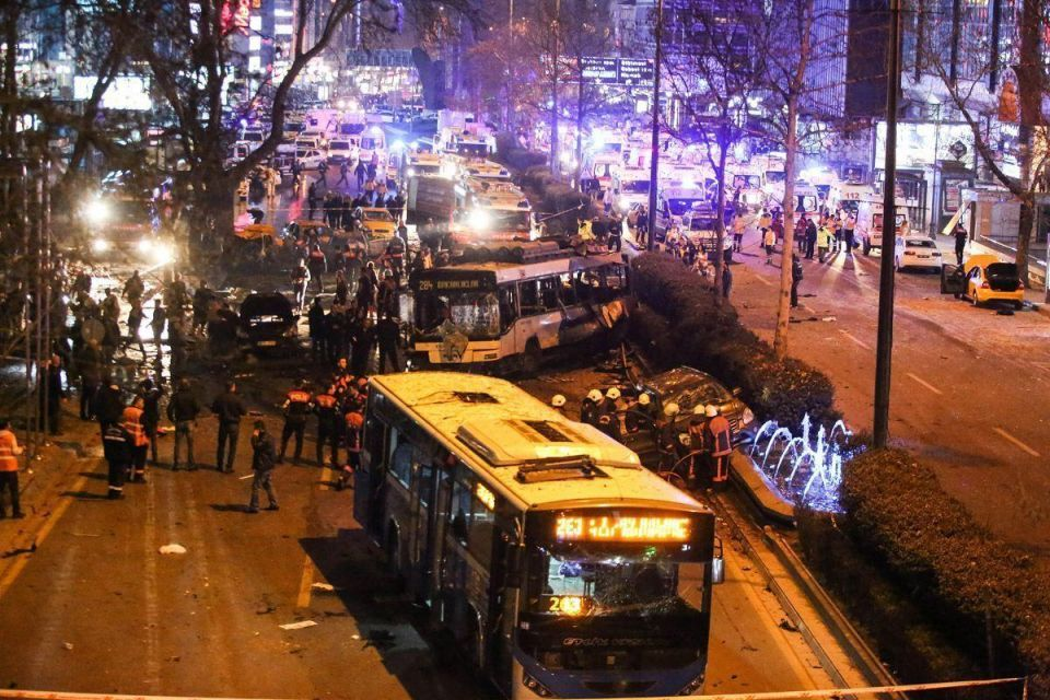 Death toll in Turkish car bomb attack rises to 37