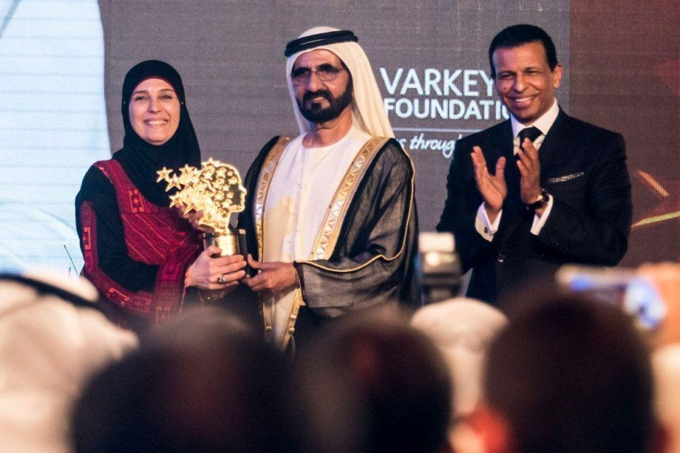 InPics: Global Teacher Prize celebrations