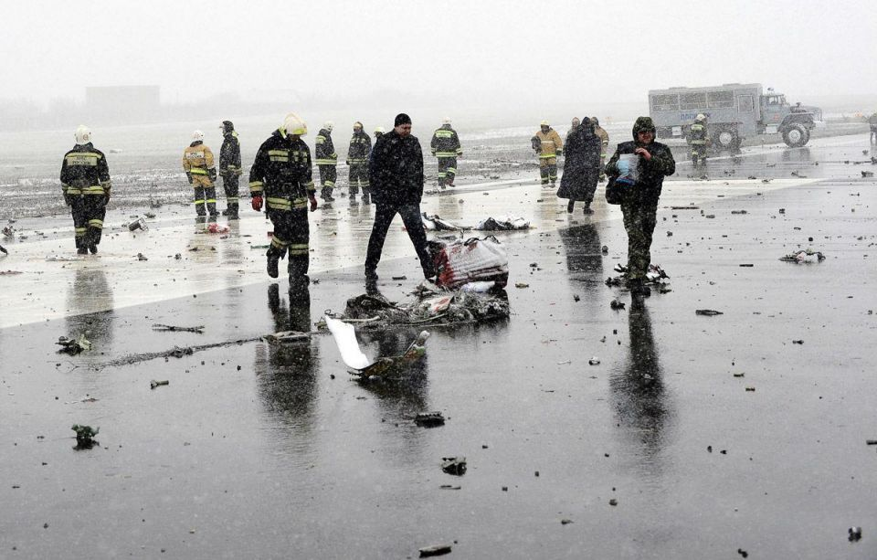 The Flydubai tragedy in southern Russia