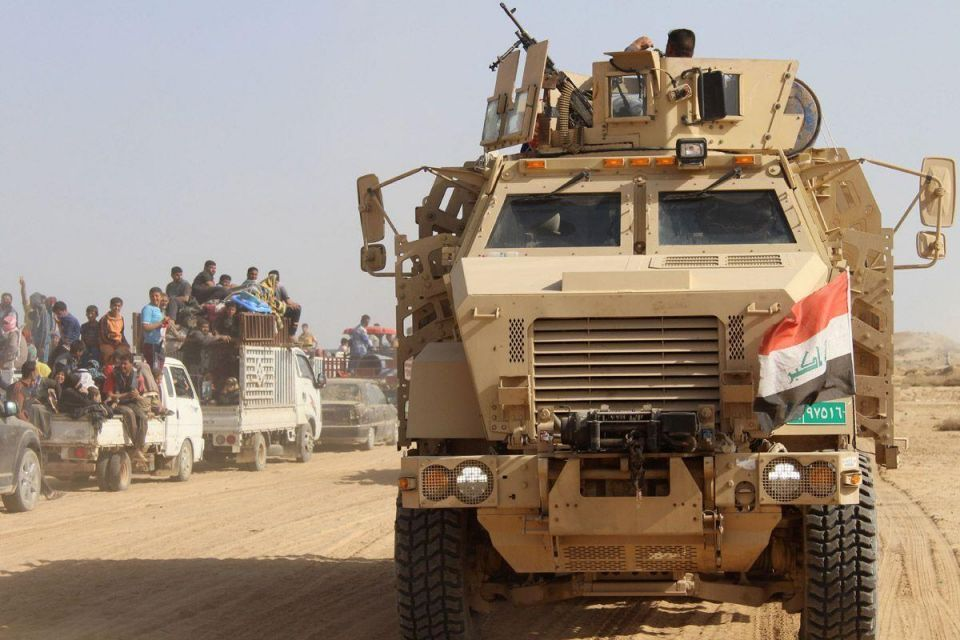 Iraqi government forces retake the town of Zankura, northwest of Ramadi, from ISIL in Anbar province