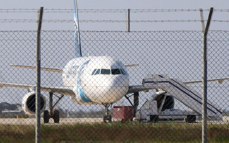 In Pictures: EgyptAir Airbus A-320 flight hijacked and diverted to Cyprus
