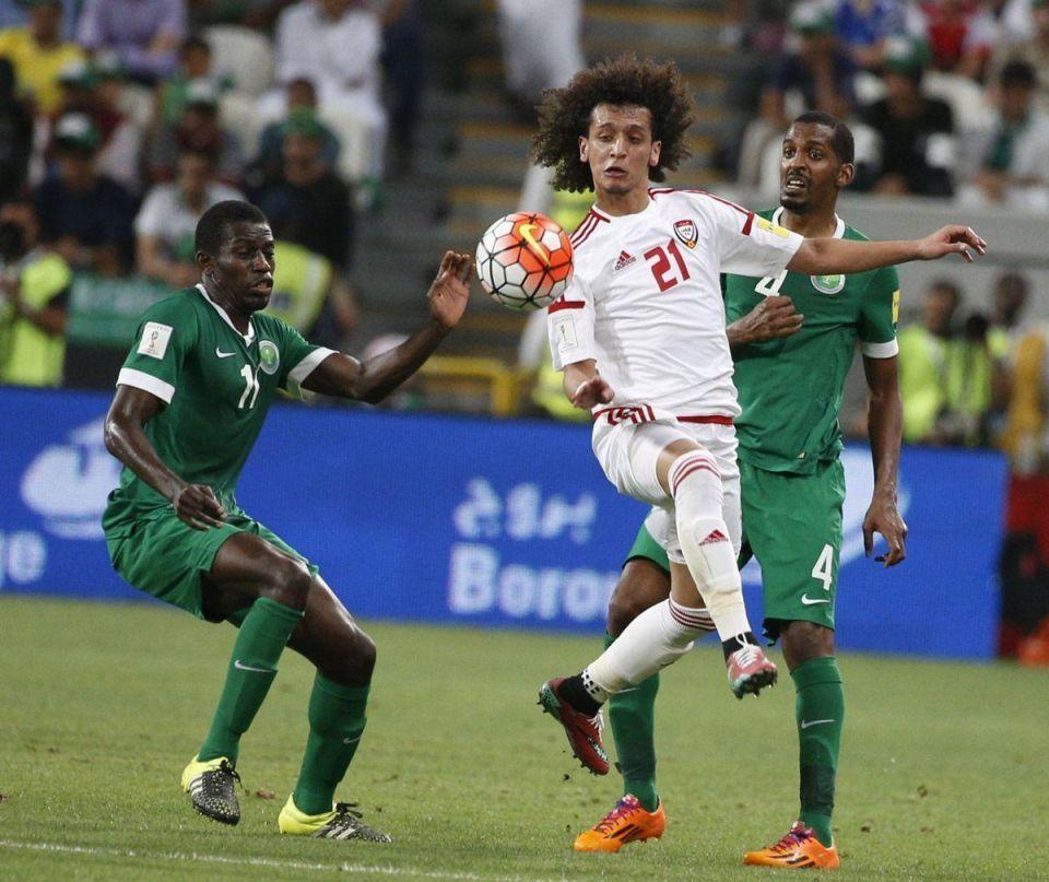 UAE's 1-1 draw vs Saudi Arabia in World Cup 2018 Asian qualifying football match in Abu Dhabi