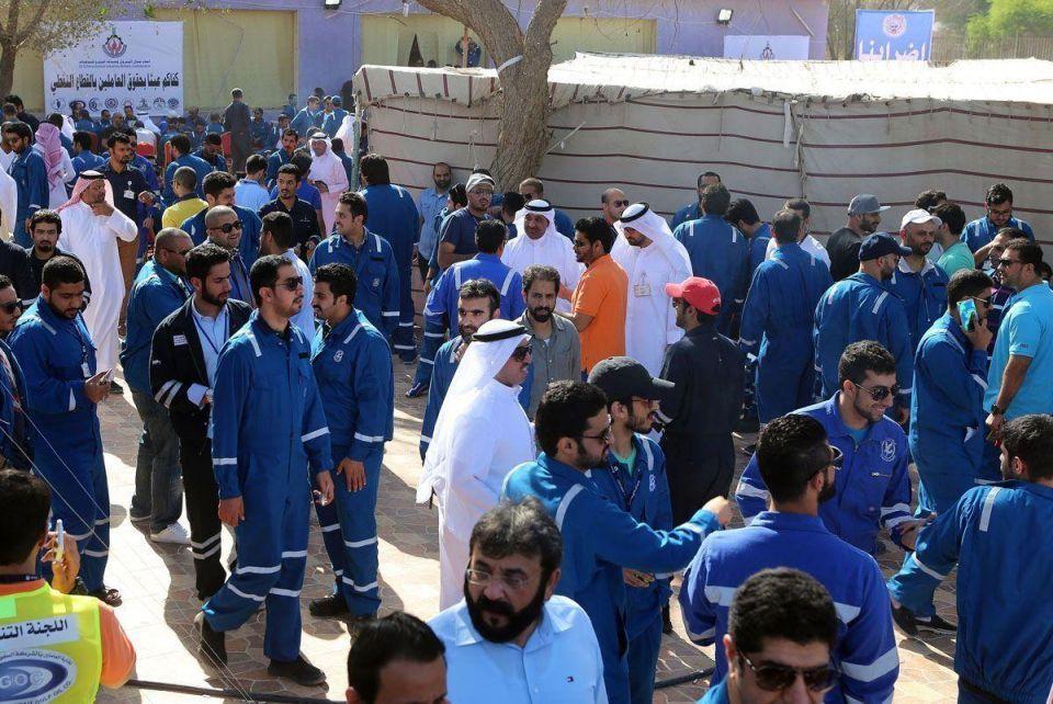 Kuwaiti oil workers end three-day strike