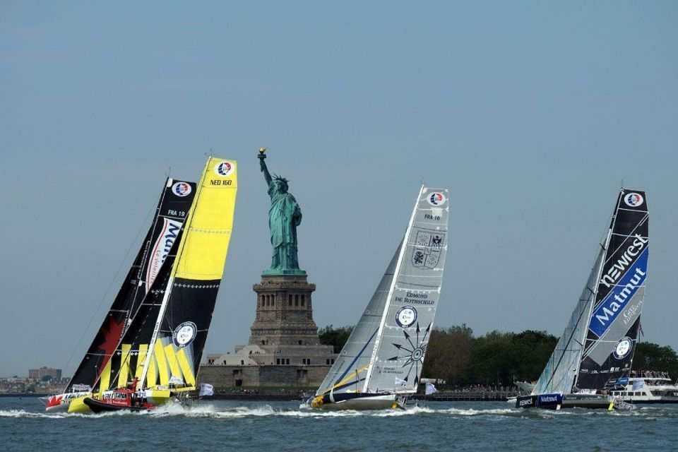 In Pictures: Transat New York-Vendee race