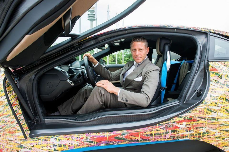 In pictures: The BMW i8 Futurism Edition