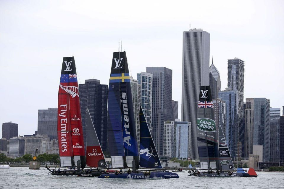 Louis Vuitton America's Cup World Series in Chicago