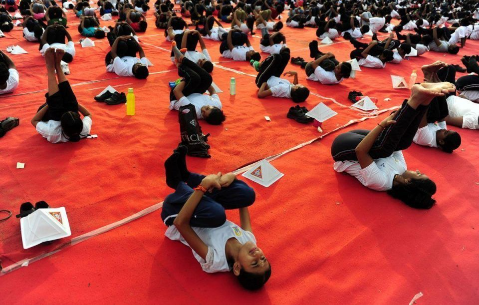 In pictures: World marks International Yoga Day 2016