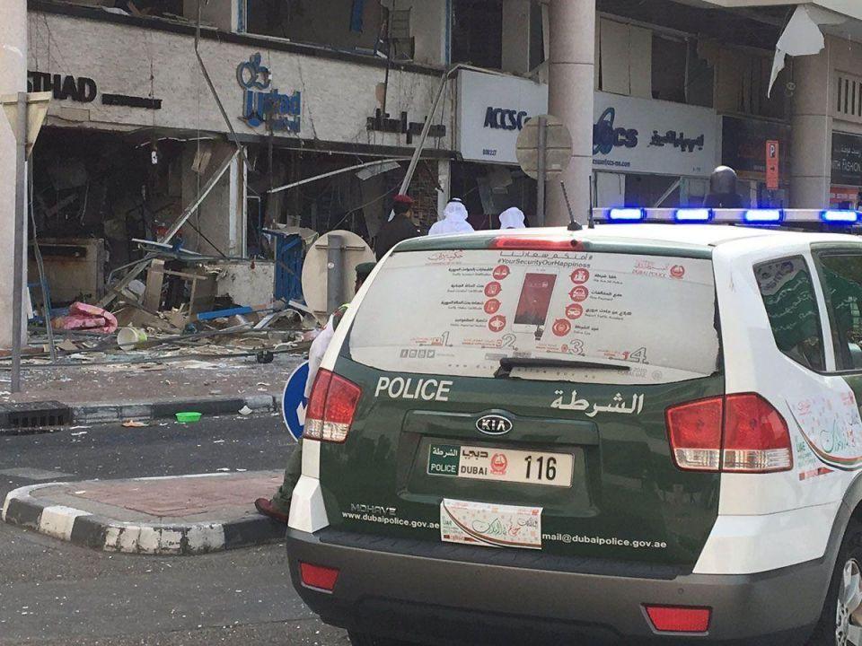 Dubai restaurant destroyed in early morning explosion