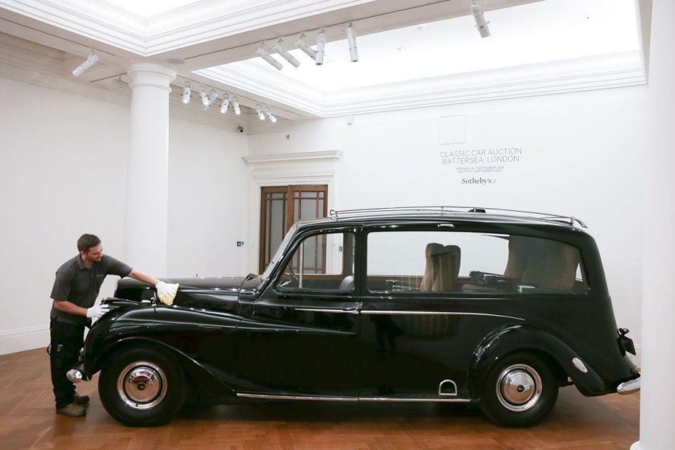 In pictures: Classic cars up for auction at Sotheby's