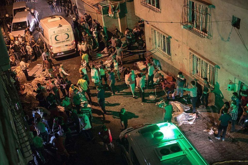 Bombing at wedding in southern Turkey kills at least 50