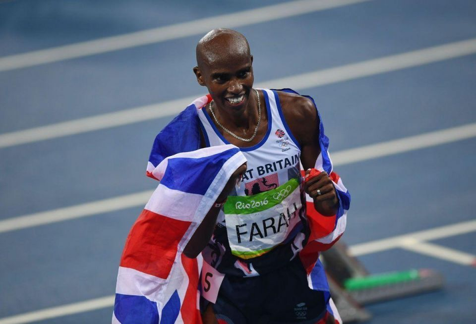 Mo Farah completes long-distance Olympic double-double