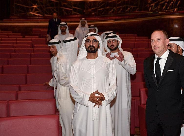 In pictures: Mohammed bin Rashid visits Dubai Opera