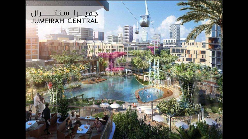 Dubai's Jumeirah Central district to cost $20 billion, has no deadline