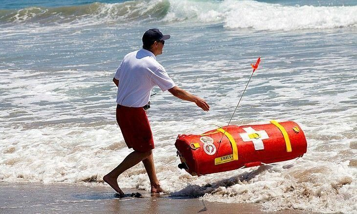 Dubai launches first robot lifeguards on emirate's beaches