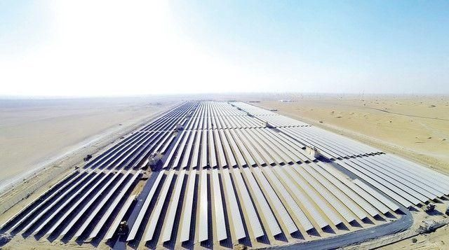 Construction of phase 2 of Dubai solar park passes halfway mark