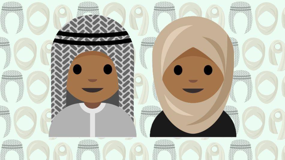 Saudi teen said to propose design for headscarf emoji