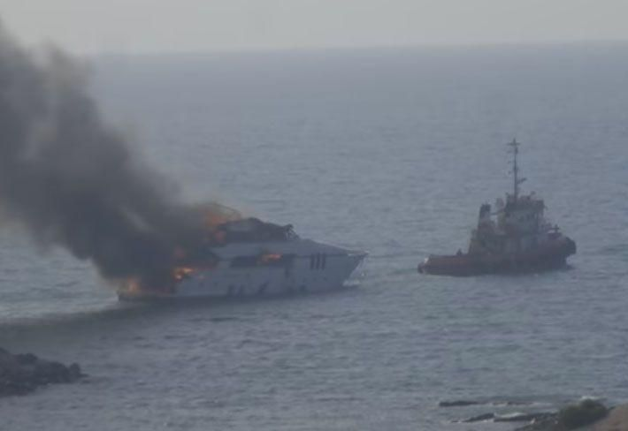 $3.8m yacht UAE marina fire caused by electrical fault