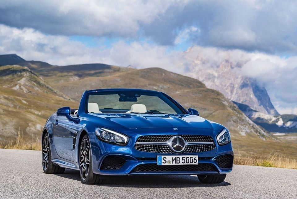 Review: 2016 Mercedes-Benz SL400