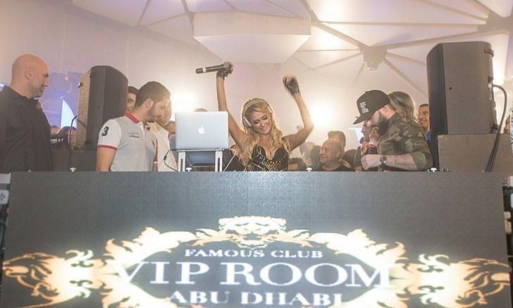 In pictures: Paris Hilton live at VIP Room in Abu Dhabi