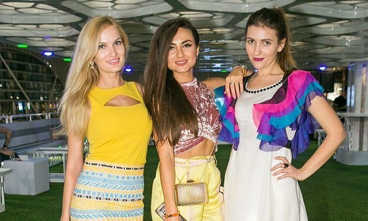 In pictures: Abu Dhabi F1 Yacht Party