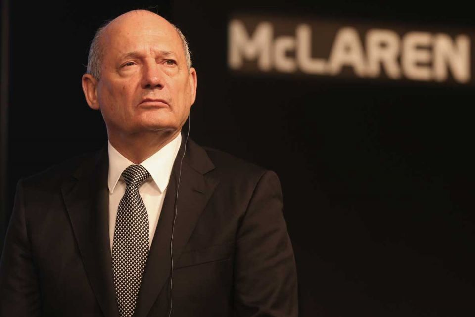 Bahrain-backed McLaren set to remove chairman Ron Dennis - report